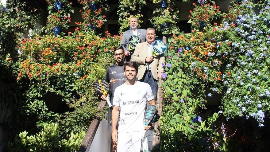 Javi Garrido y Xisco Gil ultiman su estreno en el Cervezas Victoria Córdoba Open de pádel