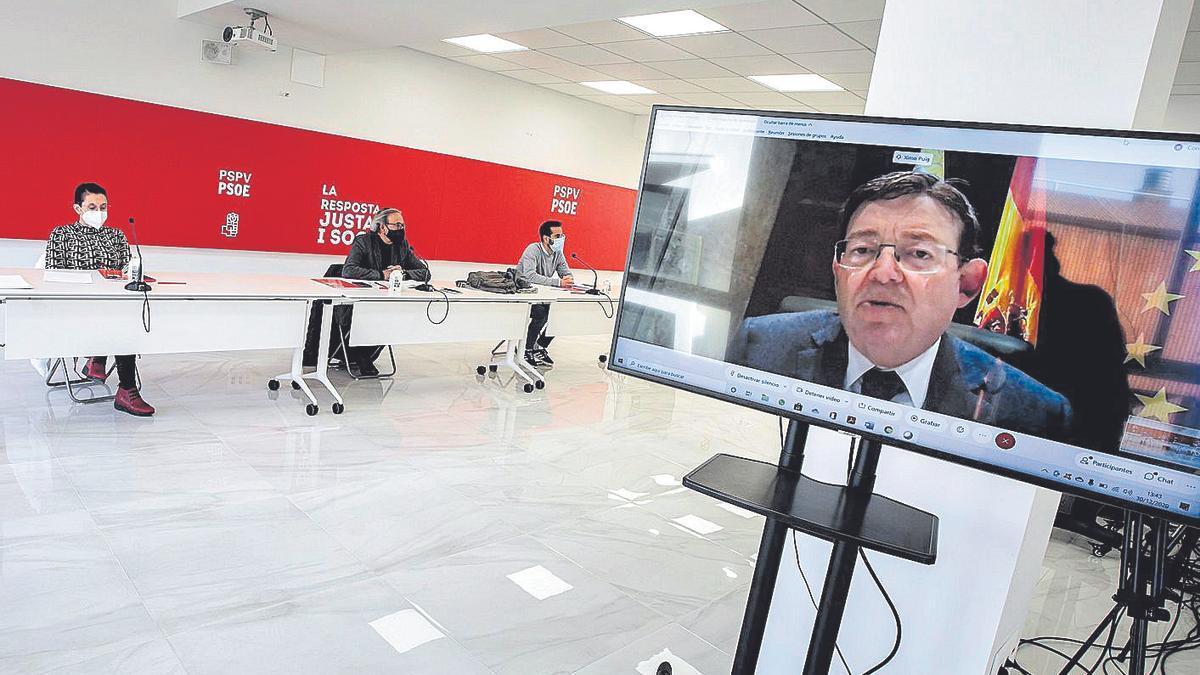 Puig ve ofensivas las críticas y dice que Ayuso agrava las desigualdades