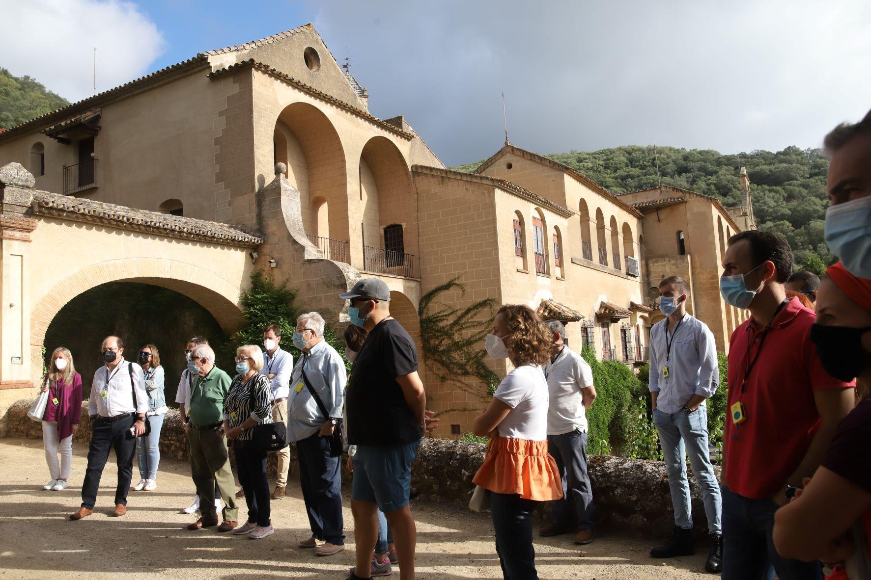 El monasterio de San Jerónimo de Valparaiso vuelve a recibir visitas guiadas