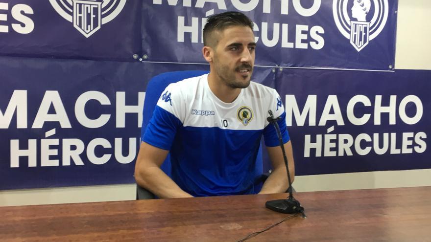 """Moyita: """"El Hércules es uno de los favoritos para el ascenso"""""""