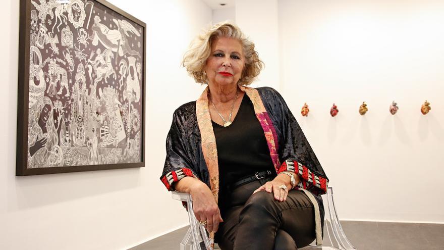 """Gema Llamazares, galerista: """"En el arte, la mujer sigue estando en segundo plano"""""""