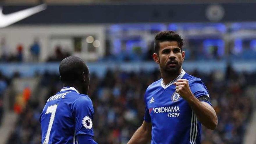 El Chelsea afianza su liderato tras ganar al City