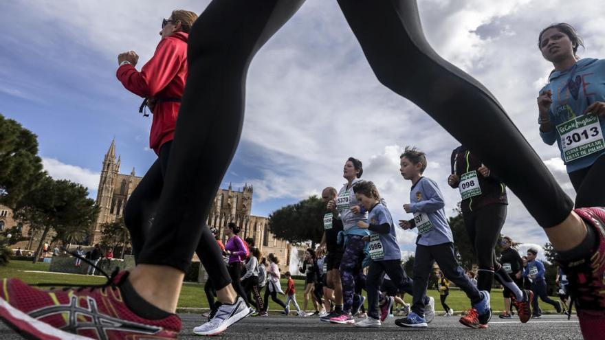 La Mitja Marató de Palma cerrará mañana el Paseo Marítimo al tráfico rodado
