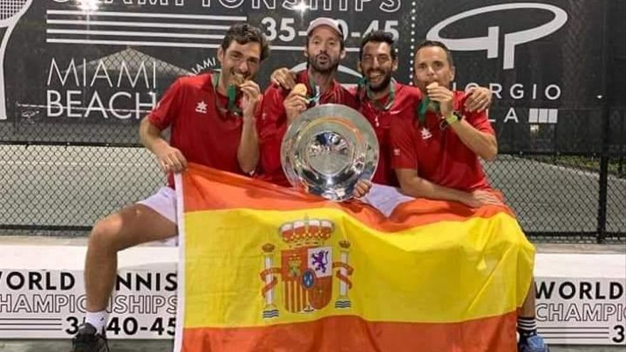 Javi Martínez logra su segundo título mundial de veteranos por equipos consecutivo