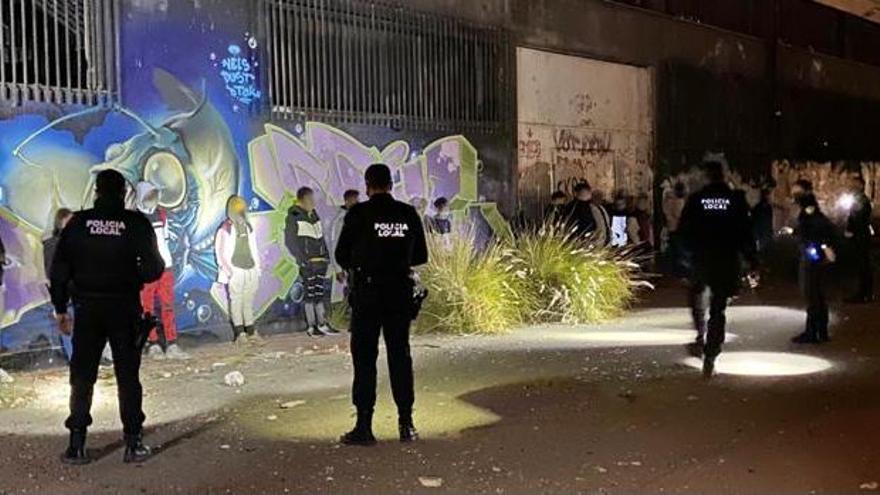 Excesos en Elche durante el fin de semana y más de 300 denuncias por el covid