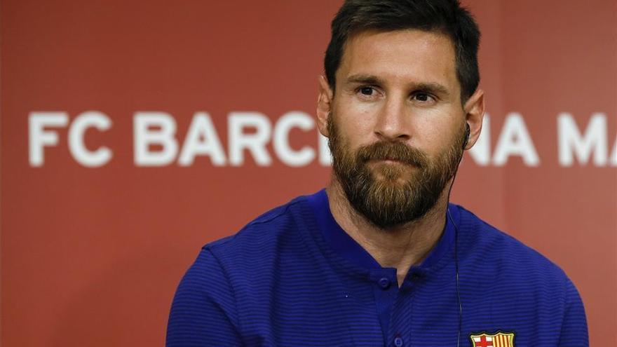 Sin presión y sin Messi a Milán
