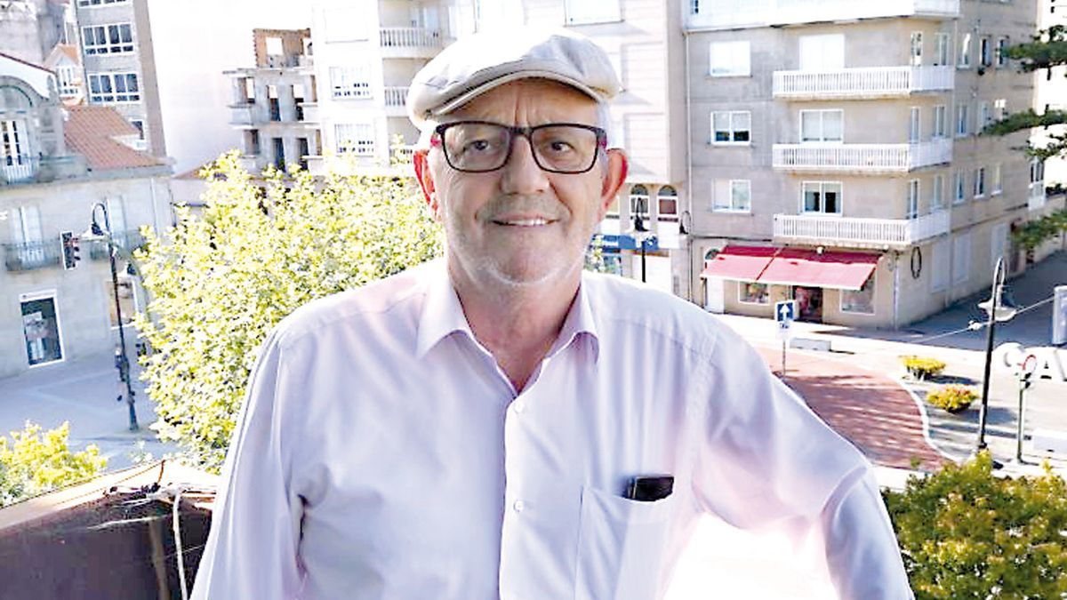 Xosé Manuel Pazos, alcalde de Cangas.