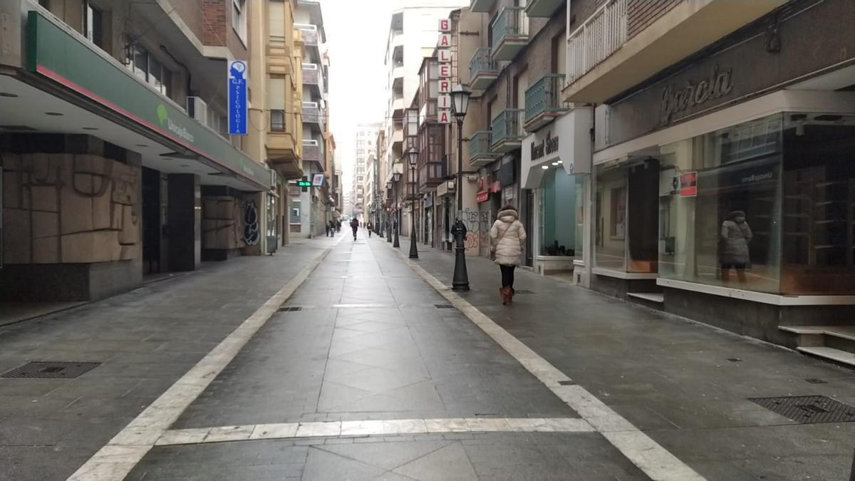 Día con viento y lluvia en Zamora
