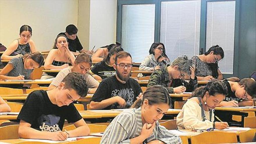 El 96,7% de alumnos aprueba la selectividad a pesar del polémico examen de Matemáticas
