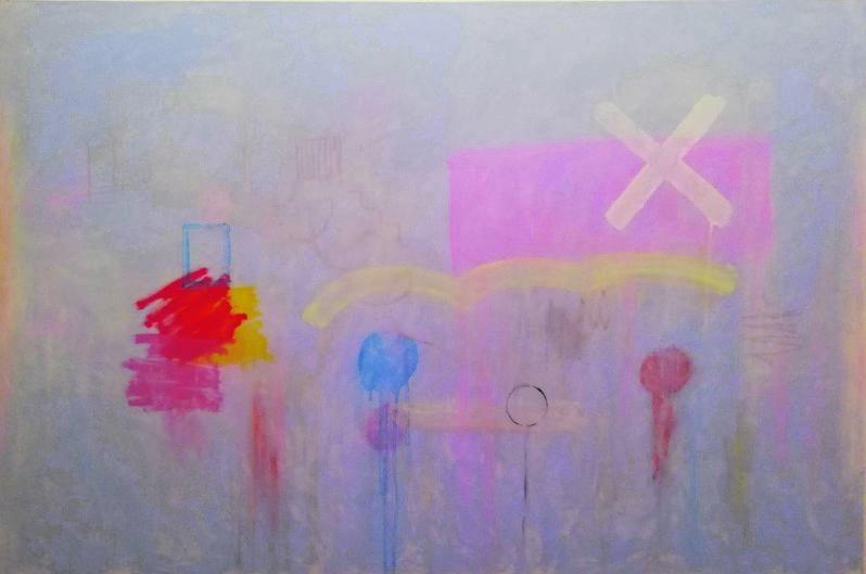 Detalle de una pintura.