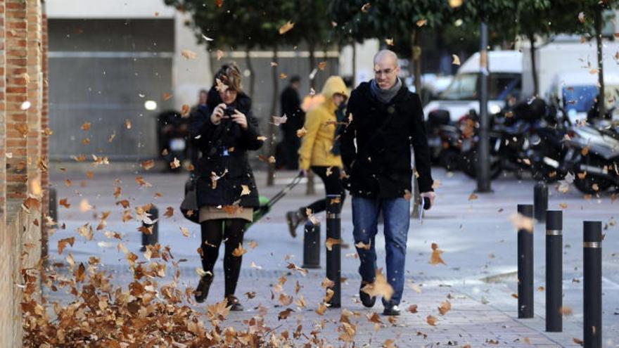 La borrasca 'Hortense' pone a la Región en aviso naranja por fuertes vientos