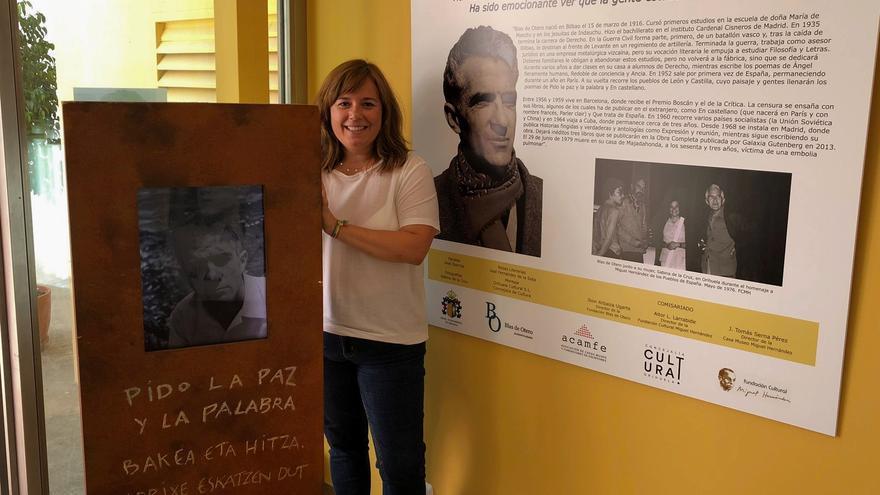Blas de Otero vuelve a Orihuela 45 años después gracias a una exposición en la Casa Museo Miguel Hernández