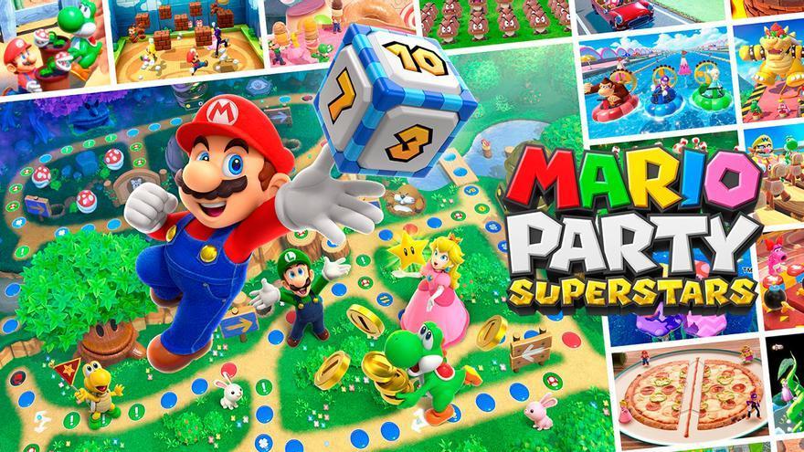 Anunciado Mario Party Superstars, un recopilatorio que recoge más de 100 alegres minijuegos