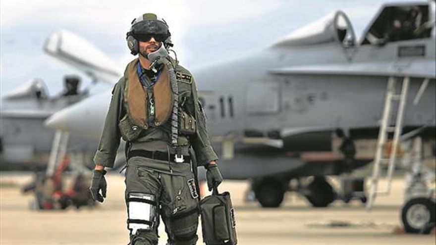 Pilotos más militares