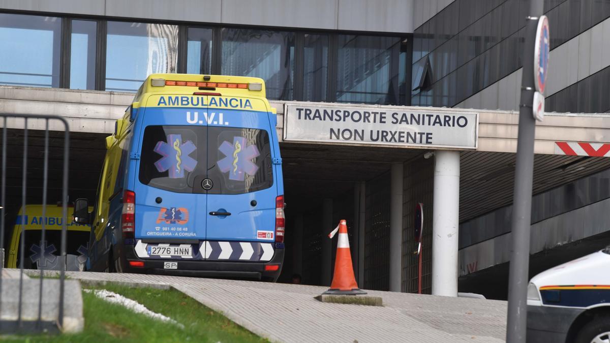 Complexo Hospitalario Universitario de A Coruña.