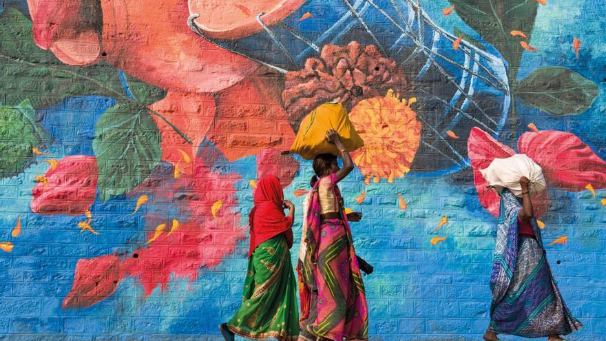 Exposición en Ibiza de fotografías y versos para rendir «tributo» a la mujer india