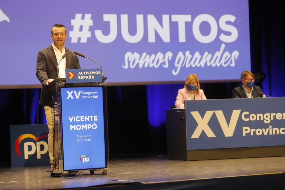 Vicent Mompó, elegido presidente provincial del PP