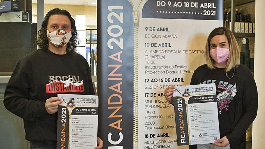 Andaina organiza del 9 al 18 de abril el IX Festival de Curtametraxes e Diversidade