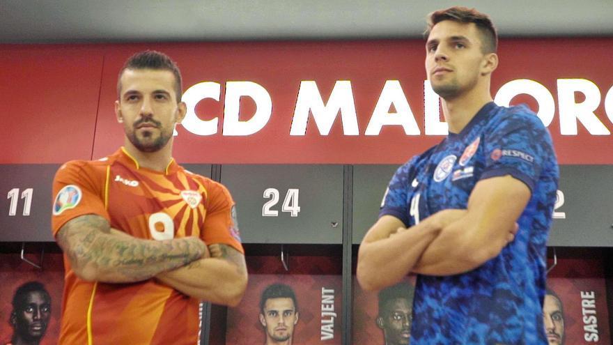 Trajkovski y Valjent,  a un partido de jugar la Eurocopa con Macedonia Y Eslovaquia