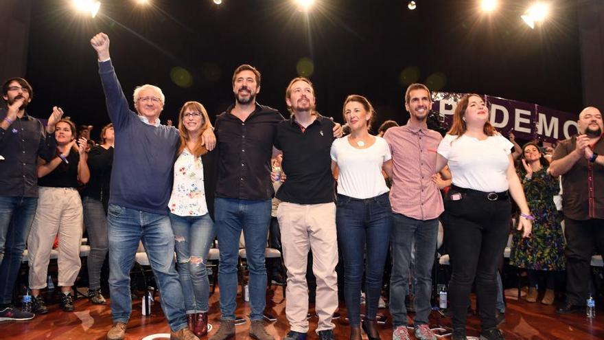 Mitin de Pablo Iglesias en A Coruña