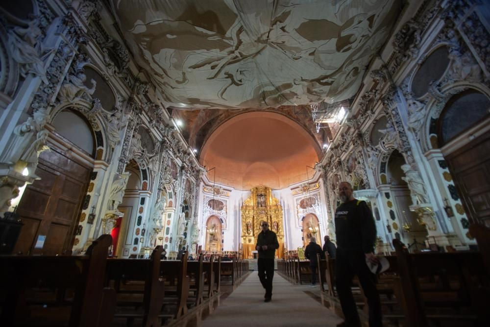 La Iglesia de los Santos Juanes lanza una visita panorámica los sábados por la mañana