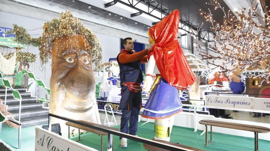 Así serán las carrozas de la Cabalgata de Reyes en Vigo