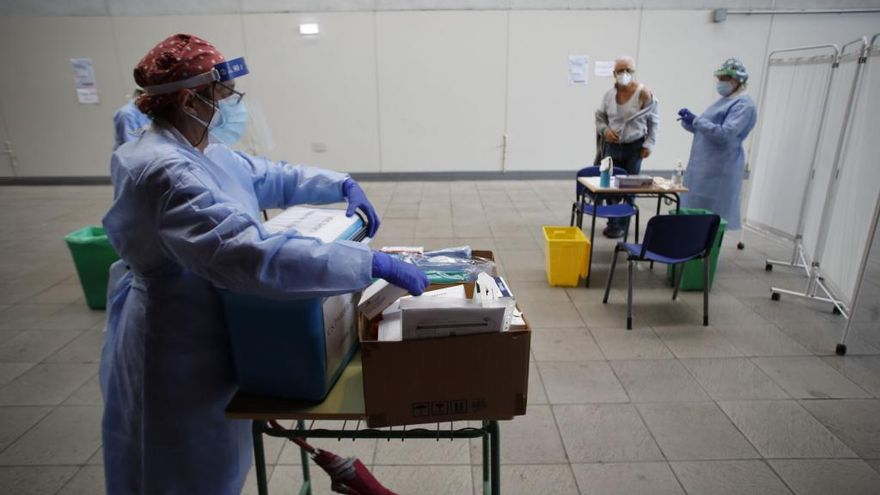 Campaña de vacunación contra la gripe en Asturias.