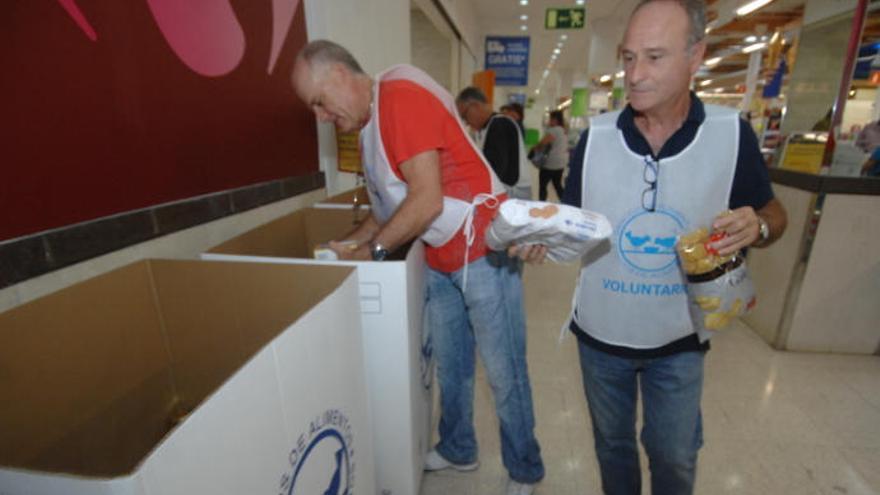El Banco de Alimentos necesita voluntarios para la gran Operación Kilo