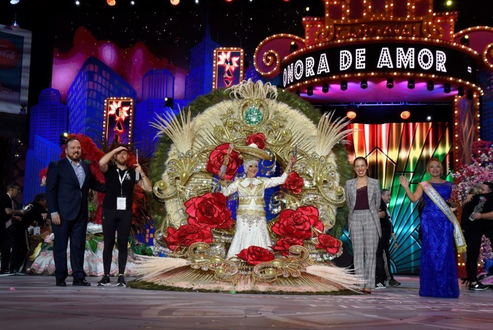 Reina de los mayores del Carnaval de Santa Cruz de Tenerife