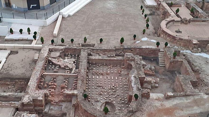 Llíria devuelve todo su esplendor  a las Termas romanas de Mura