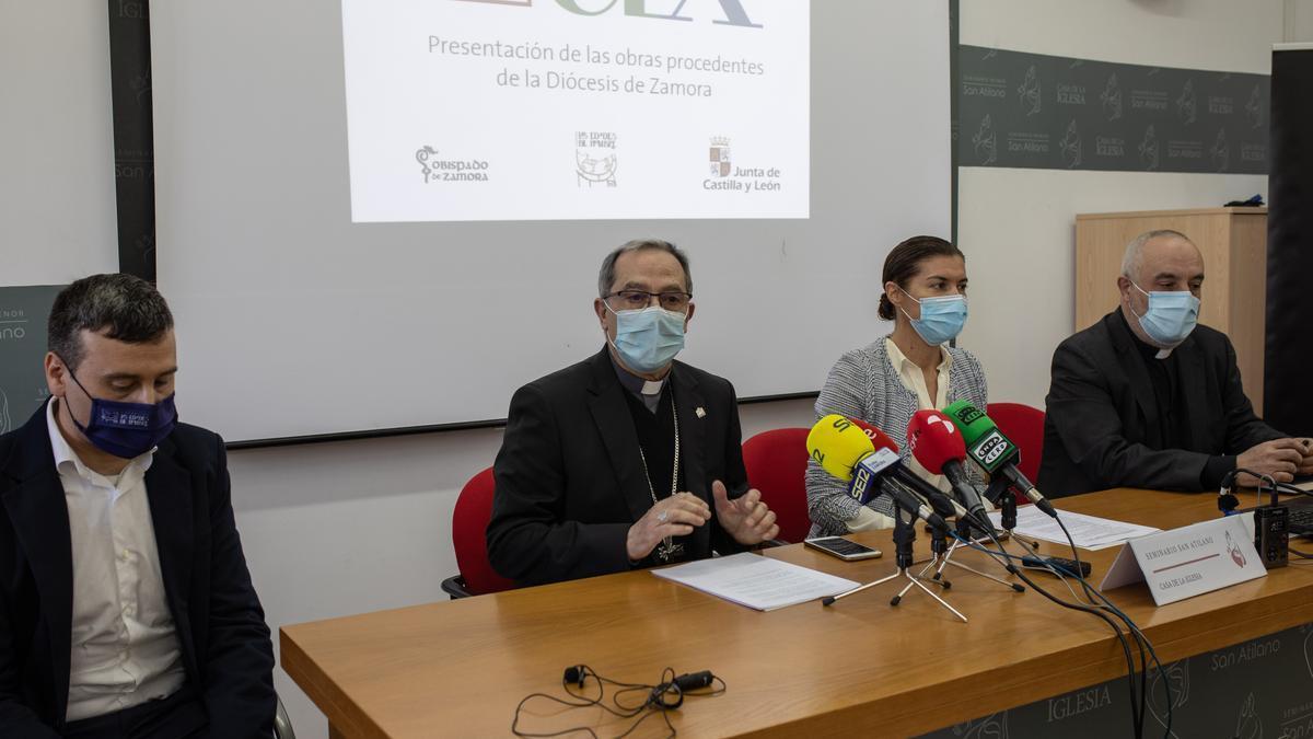 Presentación de la participación zamorana en Lux, la muestra 2021 de Las Edades del Hombre.