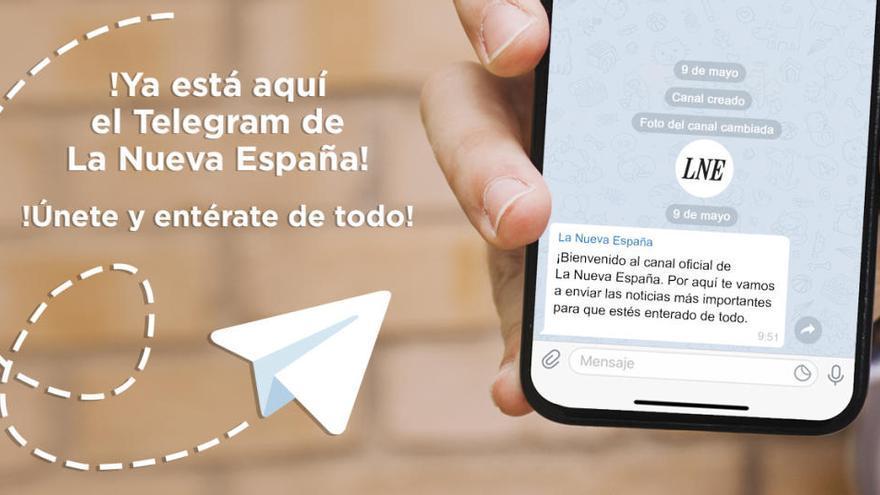 Te contamos cómo unirte al canal de Telegram de LA NUEVA ESPAÑA en tres sencillos pasos