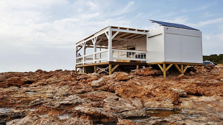 El chiringuito de Cala Gració tampoco podrá abrir este verano