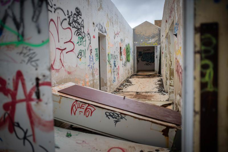 La Mesa Mota, en ruinas