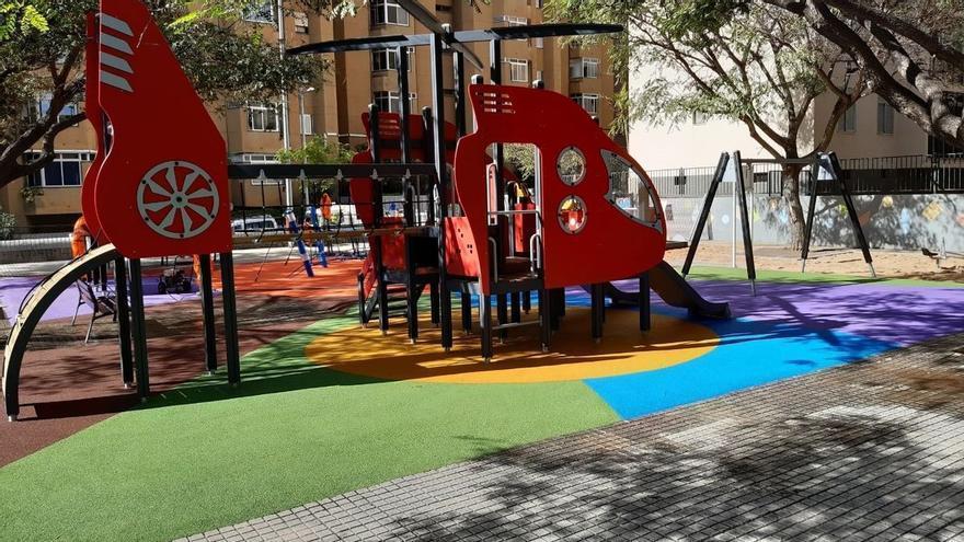 Santa Cruz y La Laguna mantendrán abiertos los parques infantiles