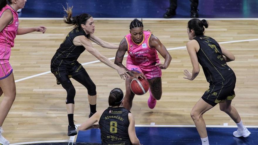 Partido de baloncesto Clarinos-Araski