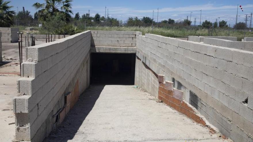 Desahucio en un sótano inacabado en Tulell