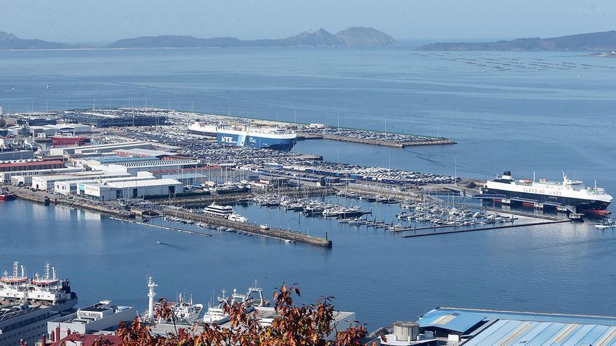 El Puerto se sobrepone al frenazo del Covid y ya iguala el volumen de mercancías del pasado año