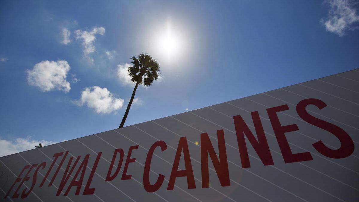 Cartel de una edición anterior del Festival de Cannes