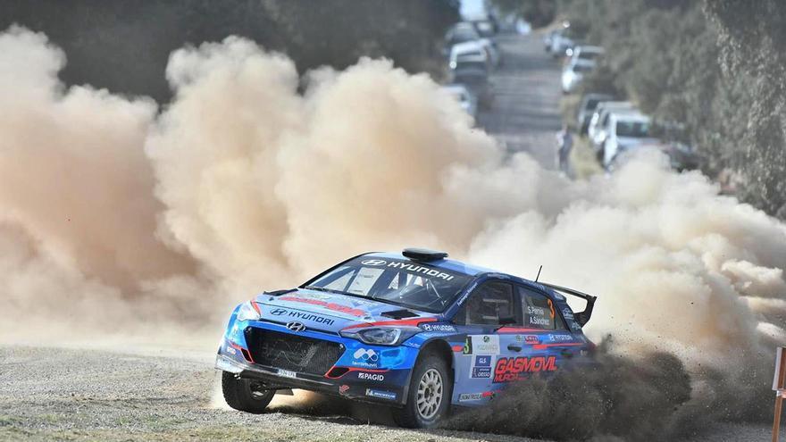 El Rally de tierra Ciudad de Pozoblanco en imágenes