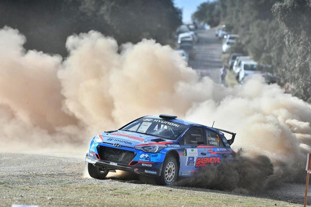 El Rally de tierra de Pozoblanco en imágenes
