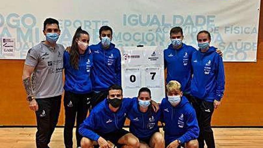Contundente victoria del Oviedo en Pontevedra en su debut liguero