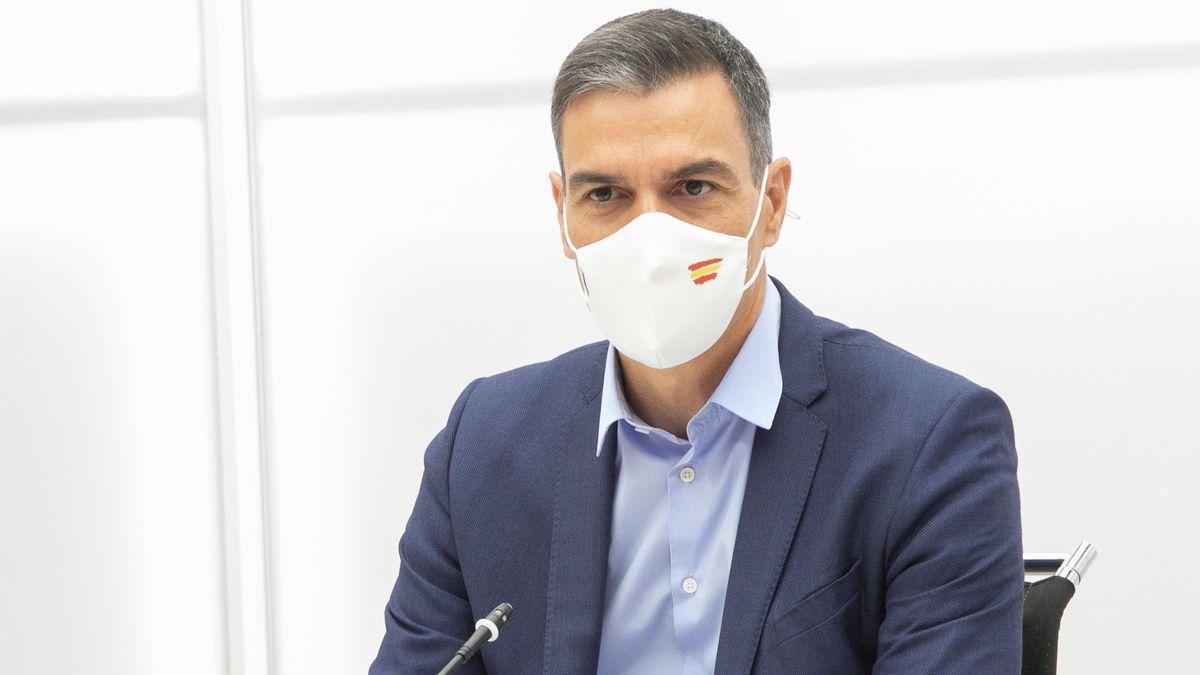 El presidente, Pedro Sánchez.