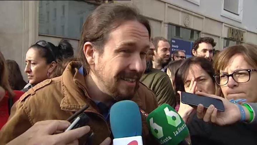 """Iglesias: """"La gente está harta de la imagen que damos"""""""