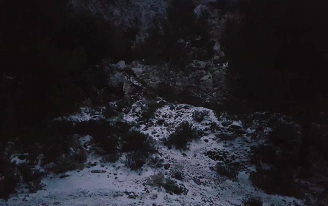 Erster Schneefall 2019 auf Mallorca