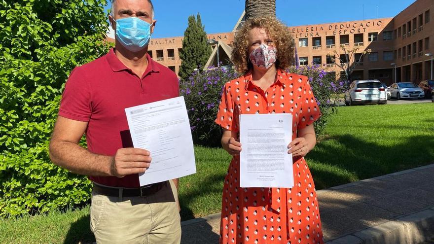 El PP de Torrent solicita por carta pruebas PCR al personal educativo