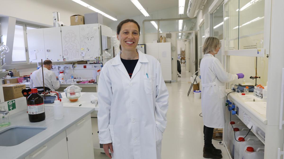 La investigadora Isabel Pastoriza
