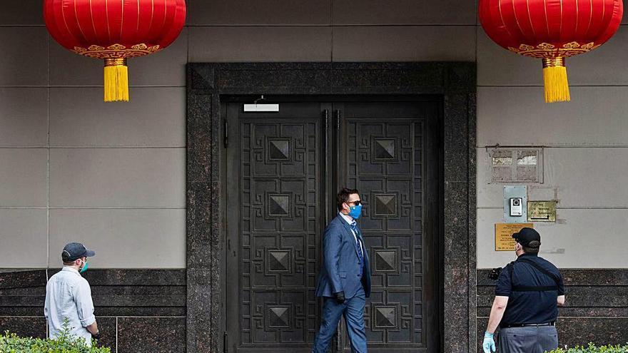 Xina i EUA apugen la tensió després del tancament del consolat a Houston
