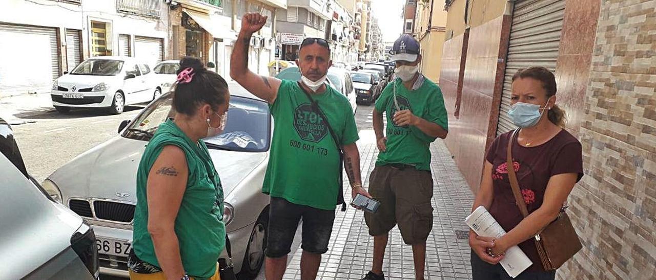 Desahucio aplazado en el barrio de Carrús