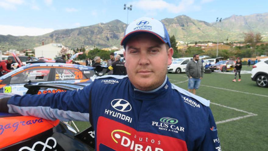 Yeray Lemes, designado mejor piloto de Canarias de 2019